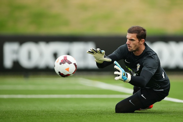 All-Stars goalkeeper Ante Covic relishing Man United test