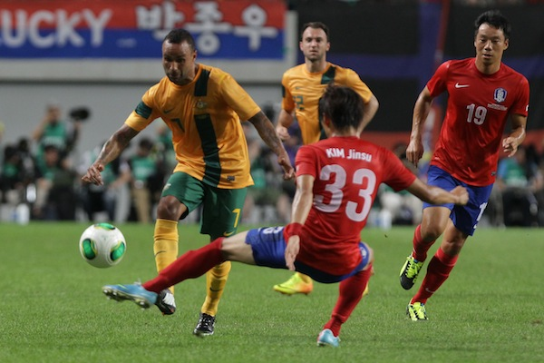 Australia open East Asian Cup with South Korea draw