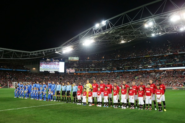 Manchester United threatened to veto A-League All-Stars match