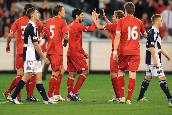 (Video) Gerrard and Aspas score as Liverpool beat Melbourne Victory