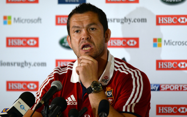 Lions coach begins mind games ahead of deciding Test match