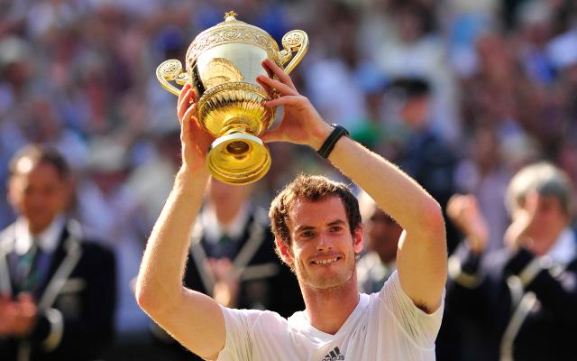 (GIF) Andy Murray: 2013 Wimbledon Champion