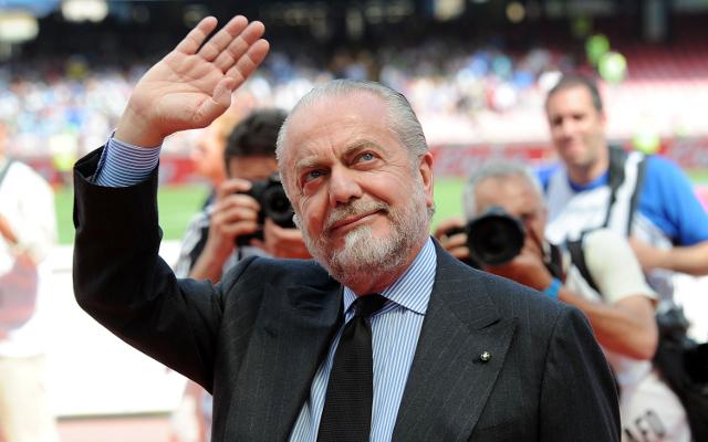 Napoli owner Aurelio De Laurentiis reveals €124.5m transfer budget