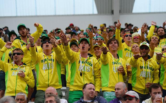 Australia fans Ashes trent bridge
