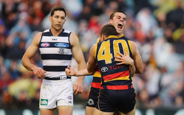 (Video) Adelaide score stunning upset over Geelong Cats