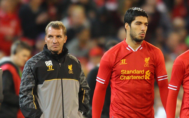 Arsenal target Luis Suarez is happy at Livepool, insists Brendan Rodgers