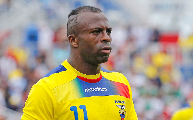 Shock news as former Birmingham City and Ecuador striker Benitez dies aged 27