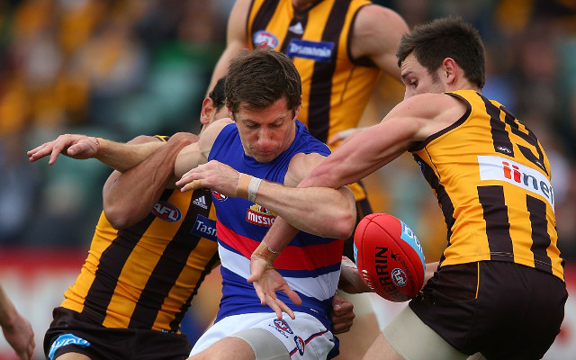 (Video) Hawthorn march on despite determined Western Bulldogs
