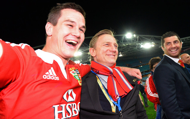 Daniel Craig parties with the British and Irish Lions after victory