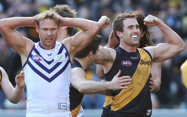 (Video) Richmond beat Fremantle to all-but secure AFL finals place