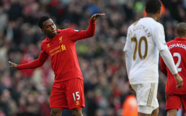 (Video) South African striker copies Liverpool star Daniel Sturridge's celebration