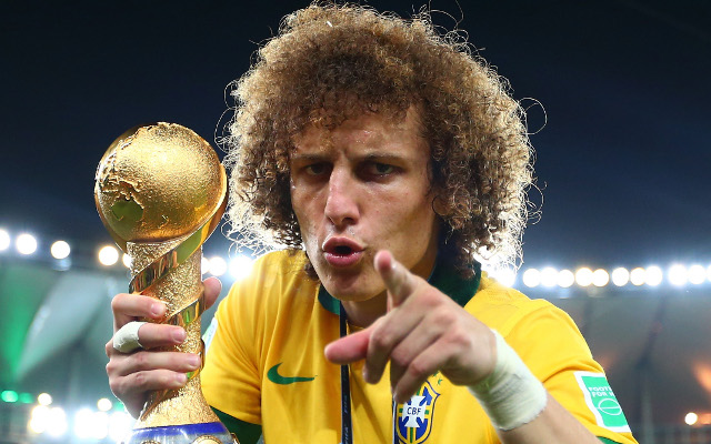 David Luiz names typically eccentric 'dream XI', featuring ex-Chelsea team-mates plus surprise snub