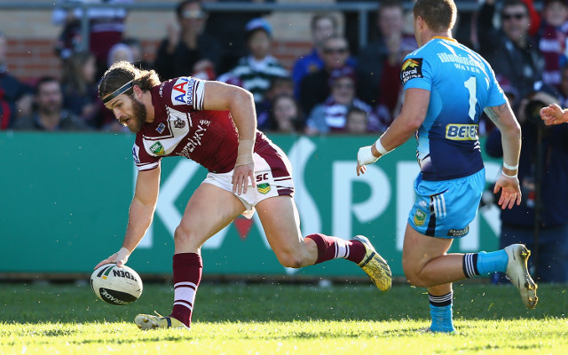 Manly Sea Eagles beat Melbourne Storm 12-10: match report with video