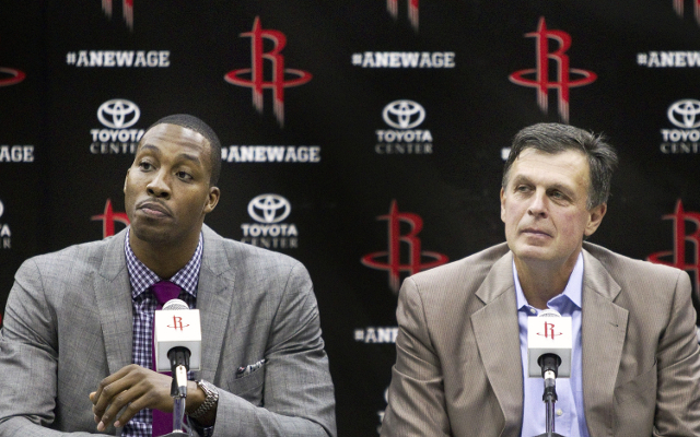 (Video) Dwight Howard welcomes fresh start with Houston Rockets
