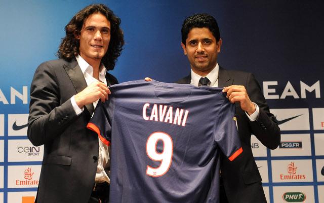 Edison Cavani Paris Saint-Germain PSG