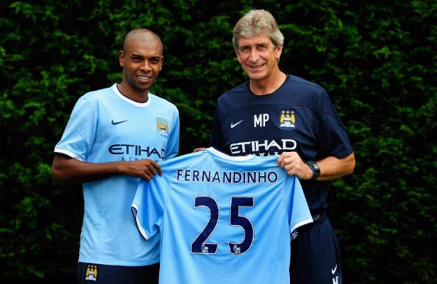 Fernandinho Man. City
