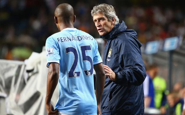 Fernandinho Pellegrini Manchester City