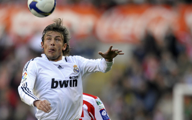 Gabriel Heinze Real Madrid