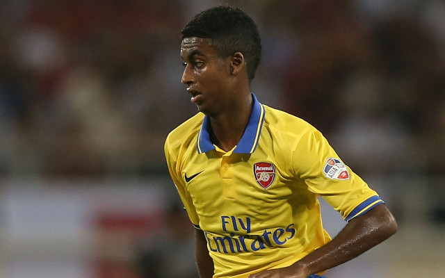 Arsenal WONDERKID headed to Scotland on loan