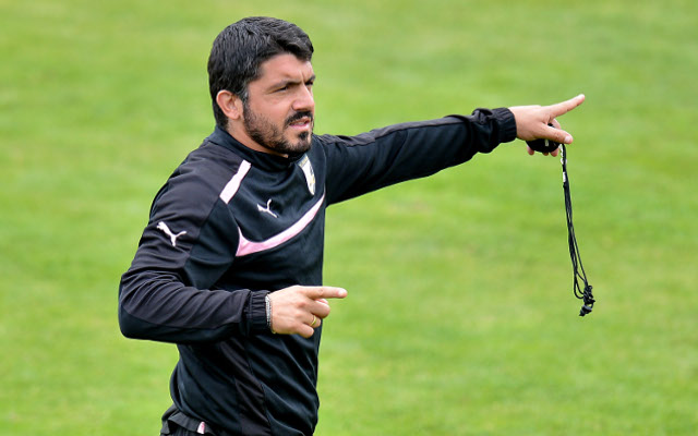 Official: Palermo sack Gennaro Gattuso
