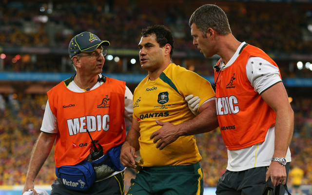 (Video) George Smith knocked out as Wallabies trail Lions at half-time