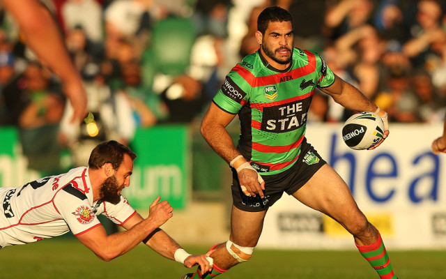 (Video) Try! South Sydney's Greg Inglis forces his way over