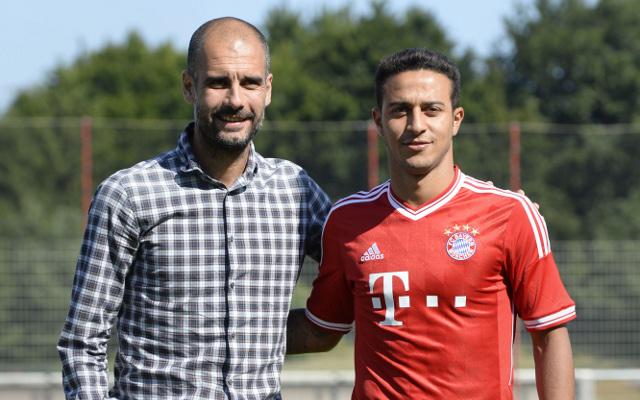 Guardiola Thiago Bayern Munich