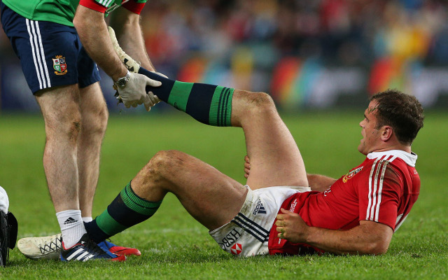 Jamie Roberts earns Lions recall after serious hamstring strain