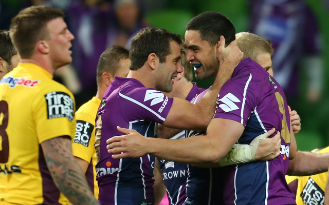 Melbourne Storm make the most of Brisbane Broncos' bad luck