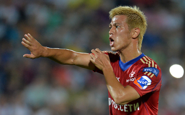 AC Milan target Keisuke Honda reportedly prepared to take pay-cut