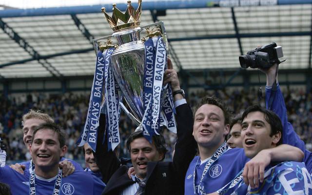 Frank Lampard Jose Mourinho John Terry Paulo Ferreira Chelsea