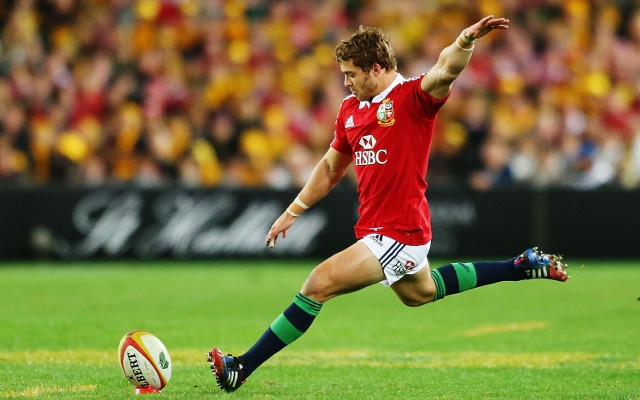 Leigh Halfpenny hailed the hero of the British and Irish Lions