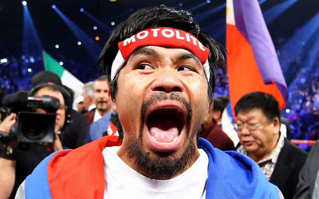 Mayweather vs Pacquiao: Massive 72 percent of bookmaker's customers back Pac-Man