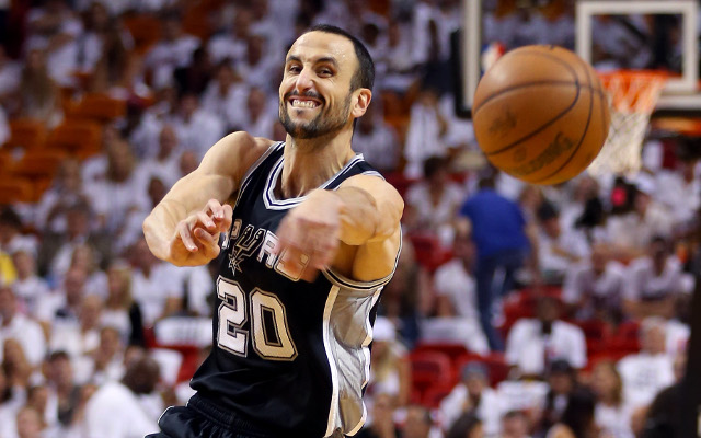 Star guard Manu Ginobili signs two-year deal with San Antonio Spurs