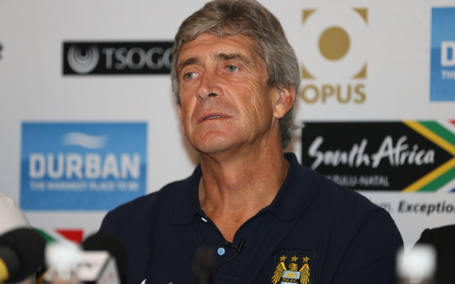 Manchester City's summer spending not over yet, says Manuel Pellegrini