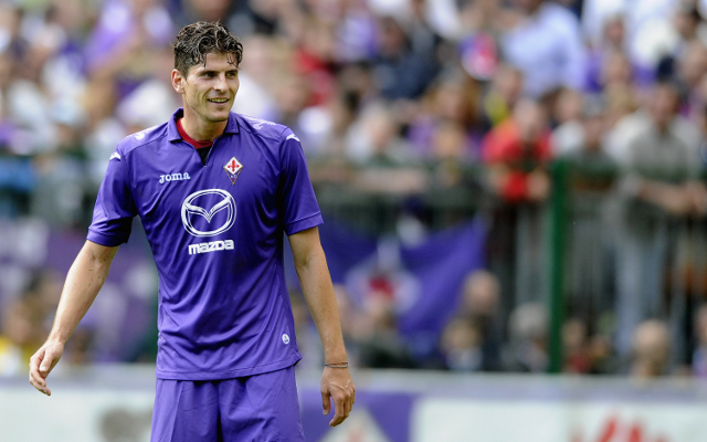 (Video) Fiorentina 2-0 Dynamo Kiev: Mario Gomez shins Serie A giants into Europa League semi-final