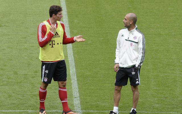 """Pep Guardiola advised me to join Fiorentina"" says Mario Gomez"