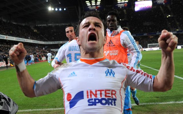 Mathieu Valbuena Olympique Marseille