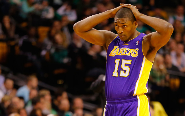 (Video) Metta World Peace amnestied by Los Angeles Lakers