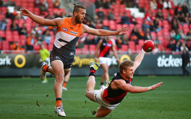 (Video) Essendon Bombers see off improved GWS Giants