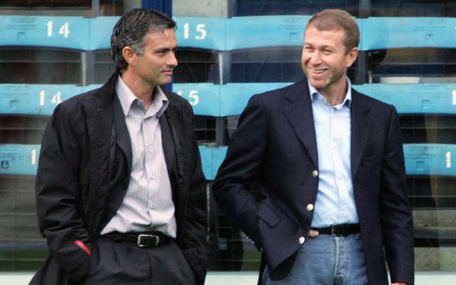 Jose Mourinho Roman Abramovich Chelsea