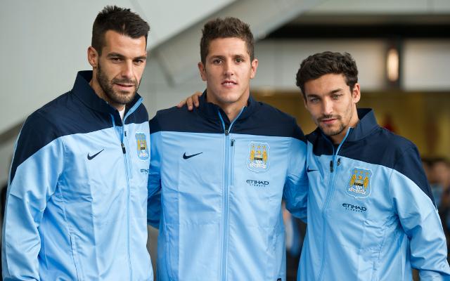 Negredo Jovetic Navas Manchester City