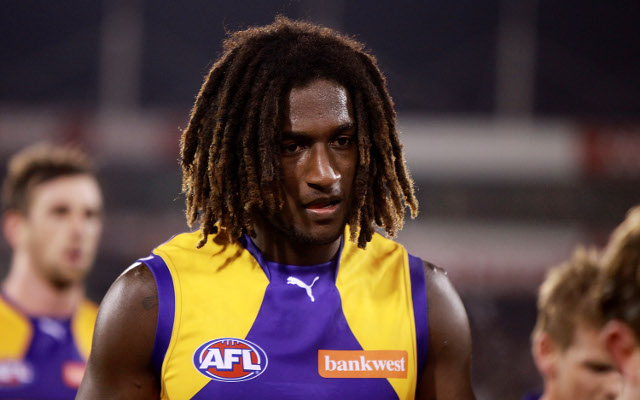 Nic Naitanui: West Coast Eagles star allegedly victim of racial abuse during loss to Fremantle