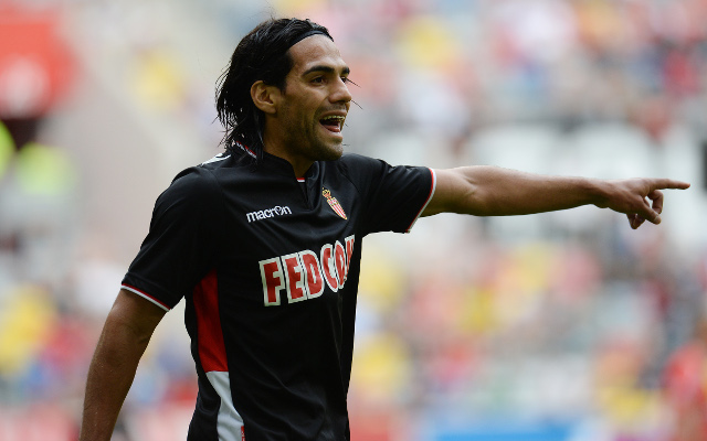 (Video) Radamel Falcao loses his cool in second successive Monaco defeat