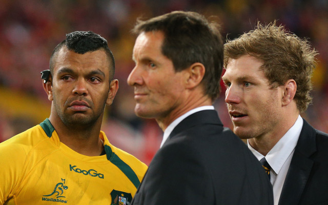 Robbie Deans admits his time as Wallabies coach may be up