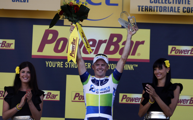 Simon Gerrans wins third stage of Tour de France for Orica-GreenEdge