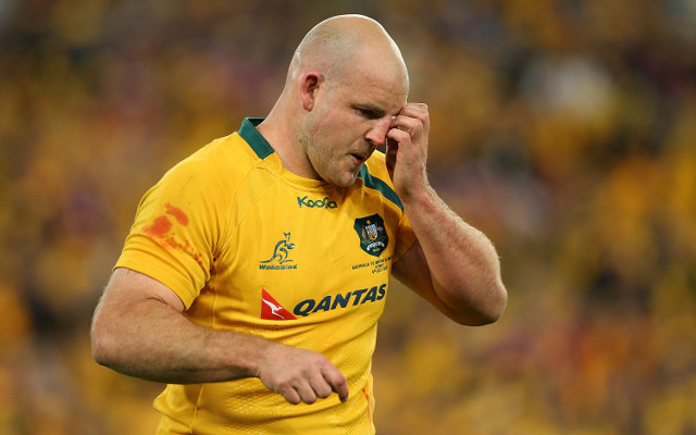 Wallabies captain Stephen Moore tears ACL, ruled out for the year