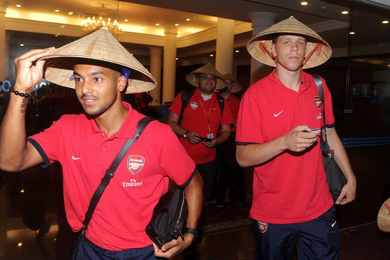 Walcott Szczesny Arsenal