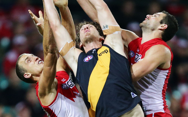 (Video) Sydney Swans put the Richmond Tigers in their place