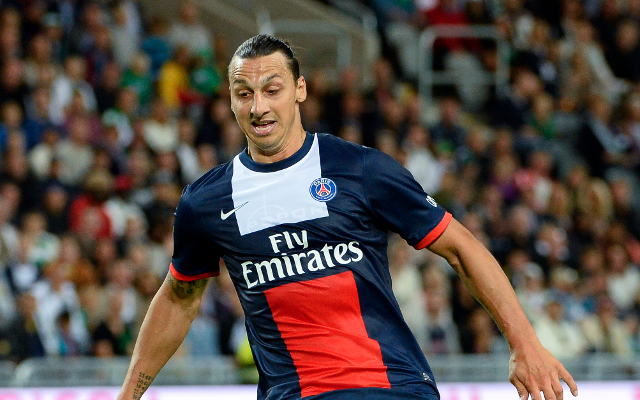 Zlatan Ibrahimovic PSG Paris Saint-Germain